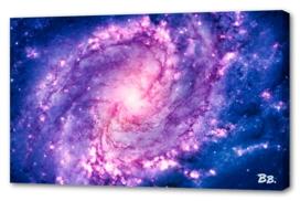Cosmic vacuum cleaner (Spiral Galaxy M83)
