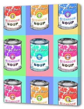 Mario Bro's Mushroom Soup