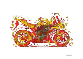 Flower Yamaha R1