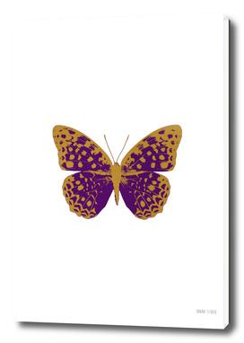Dark Purple Butterfly