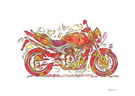 Flower Honda Hornet