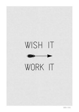 Wish It Work It