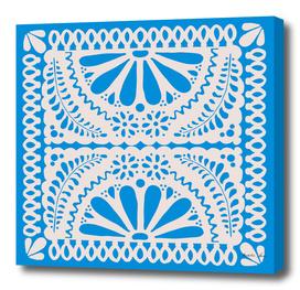 Fiesta de Flores in Party Blue