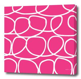 Loop Di Doo - Pink & White