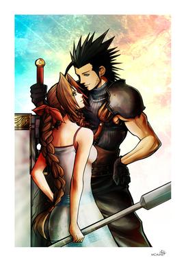 Zack and Aerith