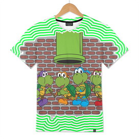 Teenage Mutant Koopa Turtles