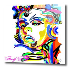 Monroe in a Rainbow