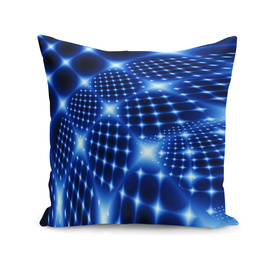 Blue glowing net