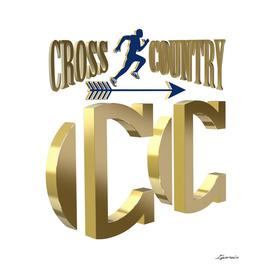 Cross country symbol
