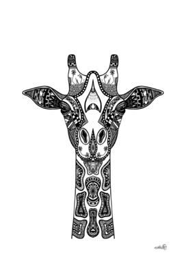 Giraffe Illustration/Drawing