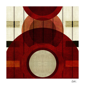 """Retro Abstract Big Circle"""
