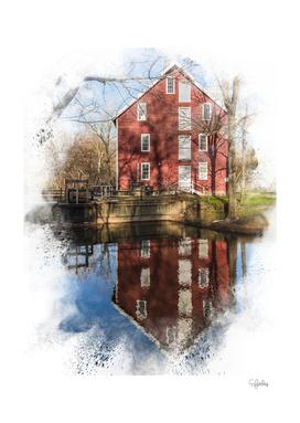 Farmhouse Reflection