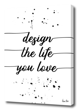 TEXT ART Design the life you love