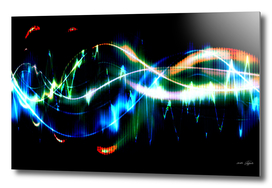 Explosion of sound waves