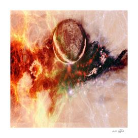 Cosmic scene