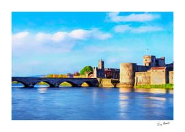 King Johns Castle and Thomond Bridge