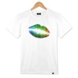 Colorful kiss