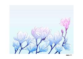Frozen Magnolia