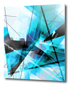 Shiver - Geometric Abstract Art