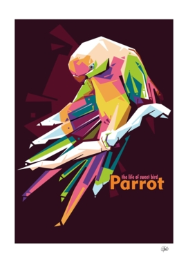Parrot (the life of sweet bird)
