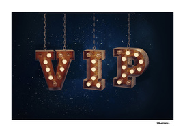 VIP - Very Important Person -  Wall-Art for Hotel-Rooms