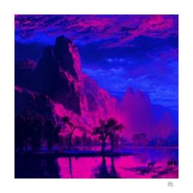 Blue Neon Yosemite