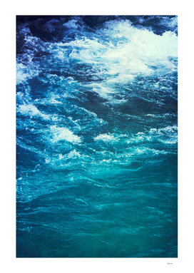 mountain river blue