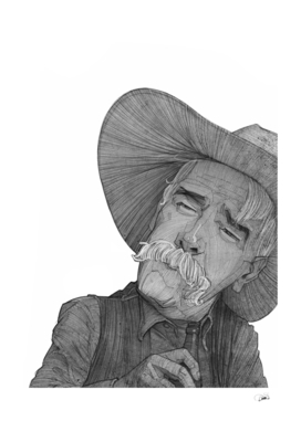 "Sam Elliott as The "" Stranger """