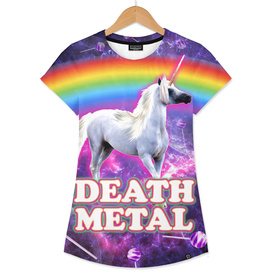 death metal unicorn space candy sweet rainbow