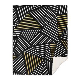 Ab Linear Black Gold