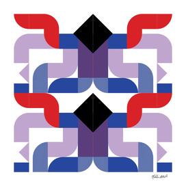 Graphic Kaleidoscope Design 23