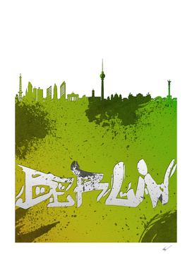 Berlin Cityscape Silhouette