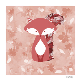 Cute Autumn FOX Design