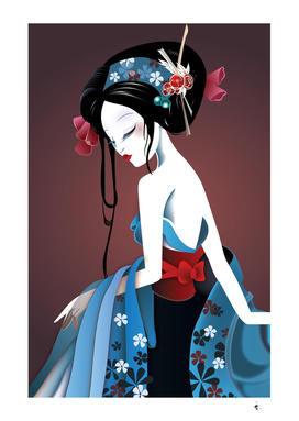 Beautiful Asian Geisha