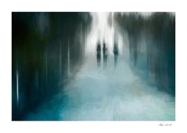 Walk into an uncertain future...