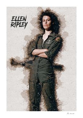 Ellen Ripley -ALIEN - Graffiti
