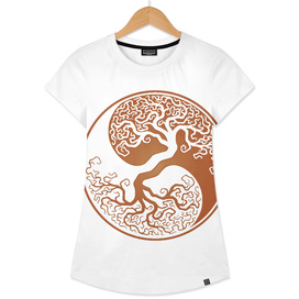 Tree of Life Yin Yang