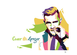 Conor McGregor In Pop Art Portraits