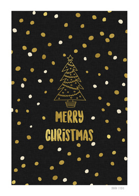 Merry Christmas Gold