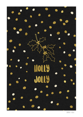 Holly Jolly Gold