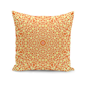 Mandala In Orange & Yellow Hues