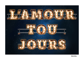 L'Amour Toujours -  Wall-Art for Hotel-Rooms