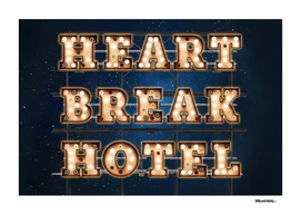 HeartBreak Hotel  -  Wall-Art for Hotel-Rooms