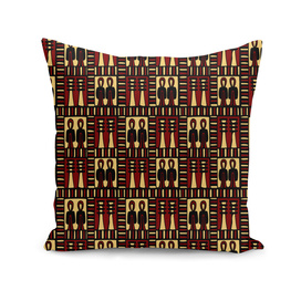EgyptianPattern Colour red