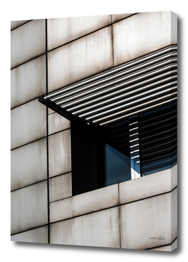 Straight lines in modern architecture