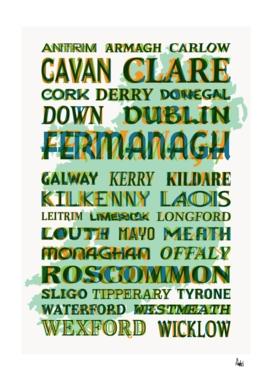 32 Counties of Ireland