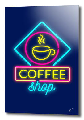 Coffee Poster 17 - Coffee shop