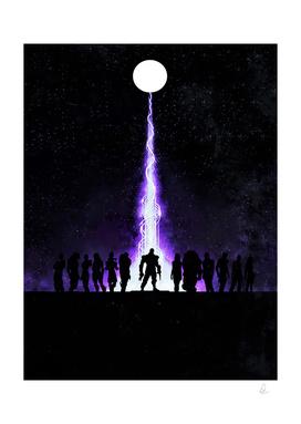 Mass Effect Vintage Poster