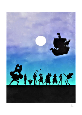 One Piece Vintage Poster