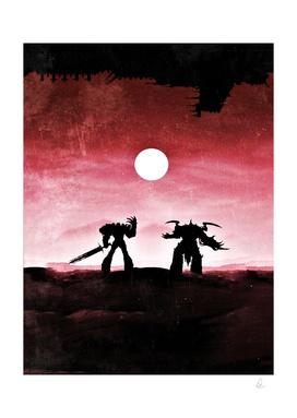 Warhammer Vintage Poster